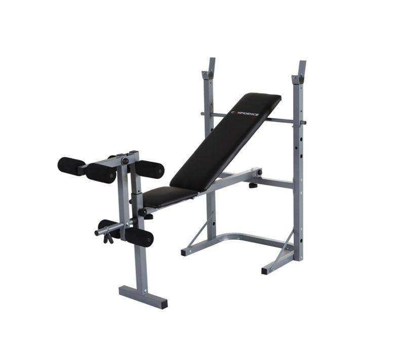 Weights Bench Multi Home Gym Equipment Dumbell Workout Abs: Confidence Fitness Home Multi Gym Dumbbell Weight Lifting
